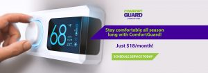 ComfortGuard heating and cooling service plan