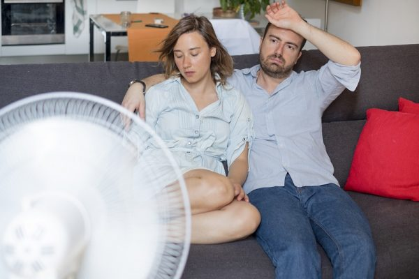 a couple dealing with home humidity