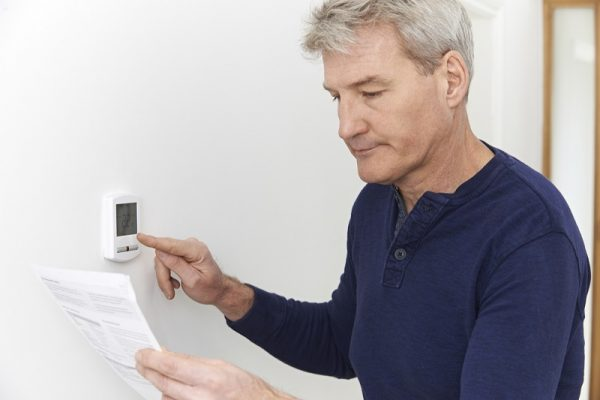 a programmable thermostat is a great way to help keep heating bills low
